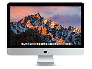 "Apple iMac 27"" Retina 5K (2017), Intel i5 3,8 GHz, 8 GB RAM, 2TB Fusion Drive, 580 Pro"