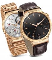 Huawei Smart Watch Elite Edelstahl Roségold Glieder- Lederband [smallbug.de Zustand Gebraucht & Neuwertig] @ 349,90 Euro