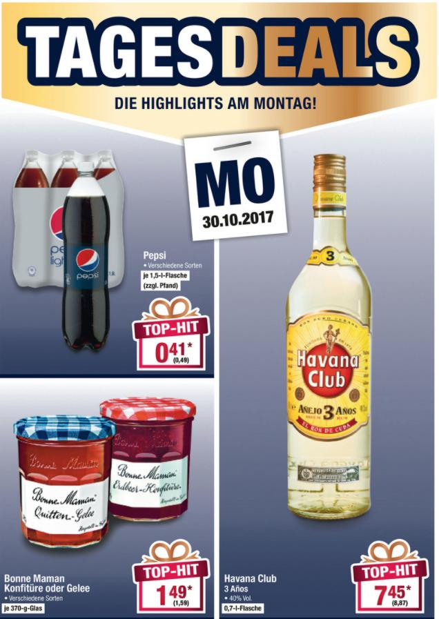 [Offline: Metro] Havanna Club 0,7l - Tagesdeal am Mo 30.10.