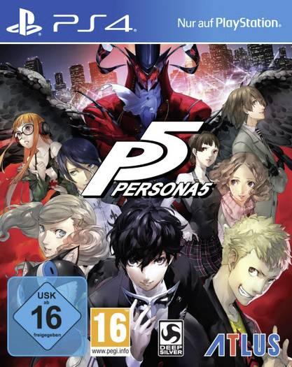 Persona 5 (PS4) für 34,40€ (SMDV)