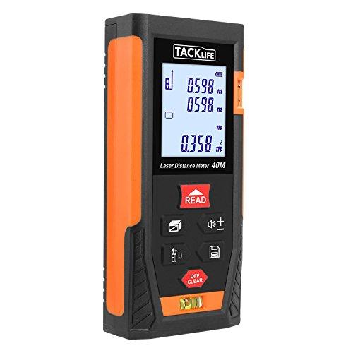 [Amazon] Tacklife Laser-Entfernungsmessgerät bis 40 Meter für 20,99€