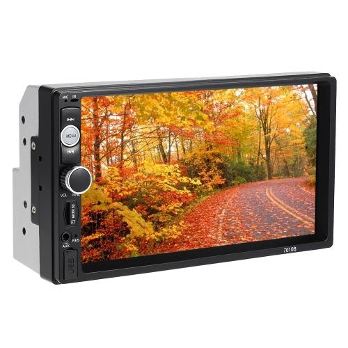 PolarLander 2 DIN 7 '' Zoll-LCD-Touch-Screen-Auto-Radio-Player Bluetooth Hands Free 1080P Rückfahrkamera Anschluss (Versand aus DE) *UPGRADE*