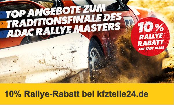 [kfzteile24.de] 10 % Rabatt (auf fast alles) zum Abschluss der ADAC Rallye Masters
