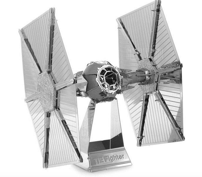 Tie Fighter 3D Modell für 85 Cent bei Gearbest