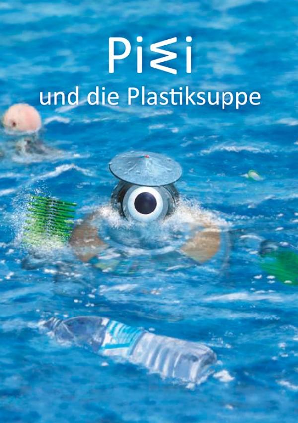"""Kostenloses Kinderbuch """"PIWI und die Plastiksuppe"""" Spendiert vom Umwelt Bundesamt (eBook or Book of Rainforest Wood)"""