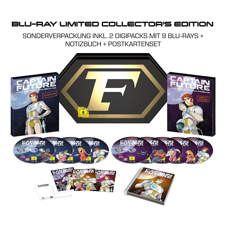 Captain Future Komplettbox BD Collectors Edition