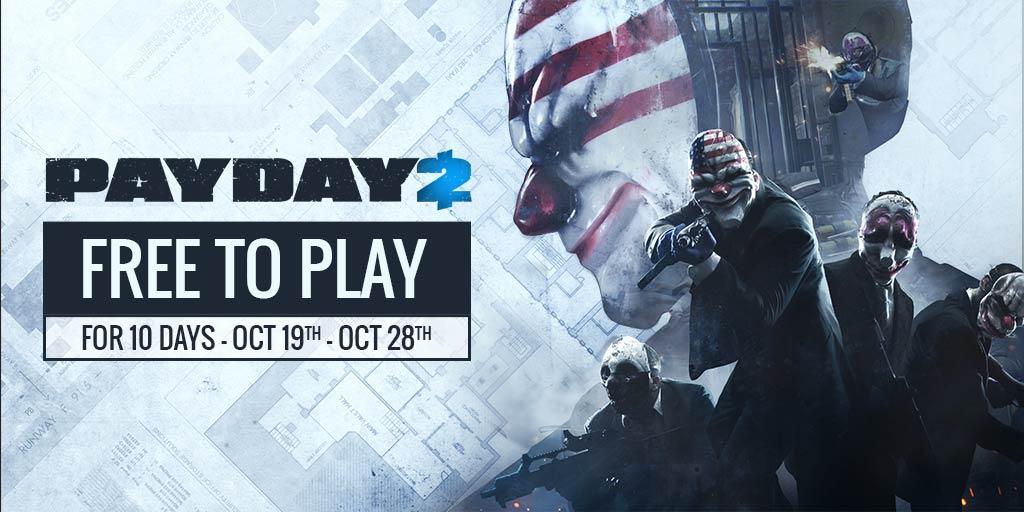 Payday 2: Ultimate Edition für 10 Tage lang kostenlos spielbar [Steam]
