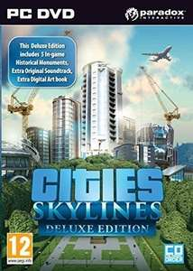 Cities: Skylines Deluxe Edition (Steam) für 5,41€ & Cities: Skylines (Steam) für 4,27€ (CDKeys)