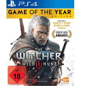 The Witcher 3: Wild Hunt - Game of the Year-Edition (Xbox One/PS4) für je 19,99€ (GameStop)