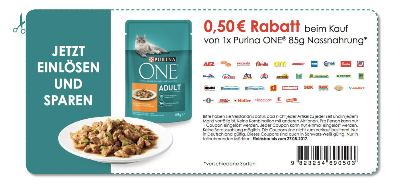 [Kaufland Eriskirch] Purina Katzenfutter für 0,15 €  (Freebie im Wert von 87 € effektiv möglich!)  !)