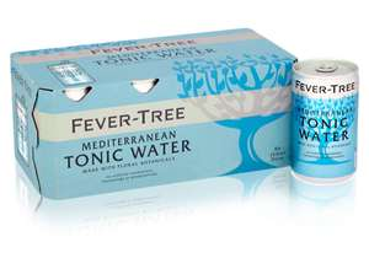 (LOKAL Frankfurt/Main) Fever Tree Tonic Water 24 Dosen 0,15l für 14,28 € inkl. 6 € Pfand - MHD Januar bzw.Juni 2018