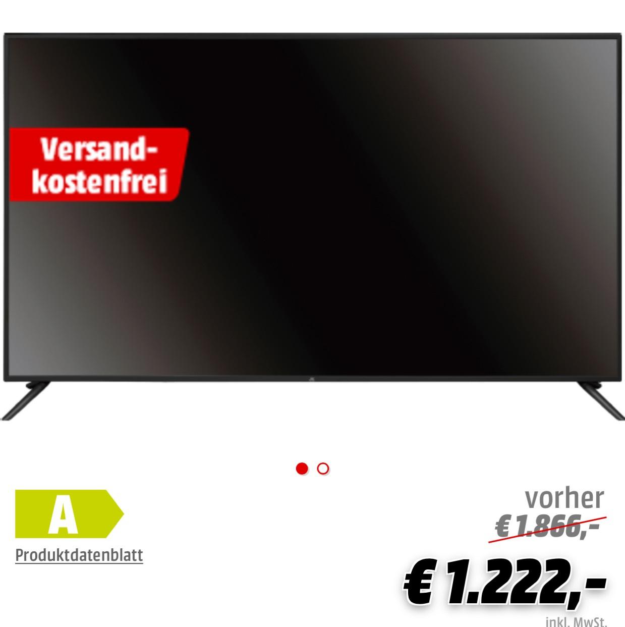 JAY-TECH GENESIS UHD 7.5 LED 75 Zoll !!! Media Markt Online