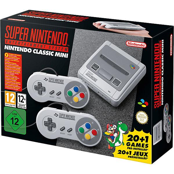 Nintendo Classic Mini SNES bei myToys heute bestellbar!