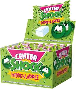 Center Shock Apfel, 100er Pack (100 x 4 g) für 4,99€ (Amazon Plus Produkt)