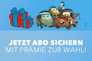 Disney Cars Magazin im Abo [Egmont-Shop online]