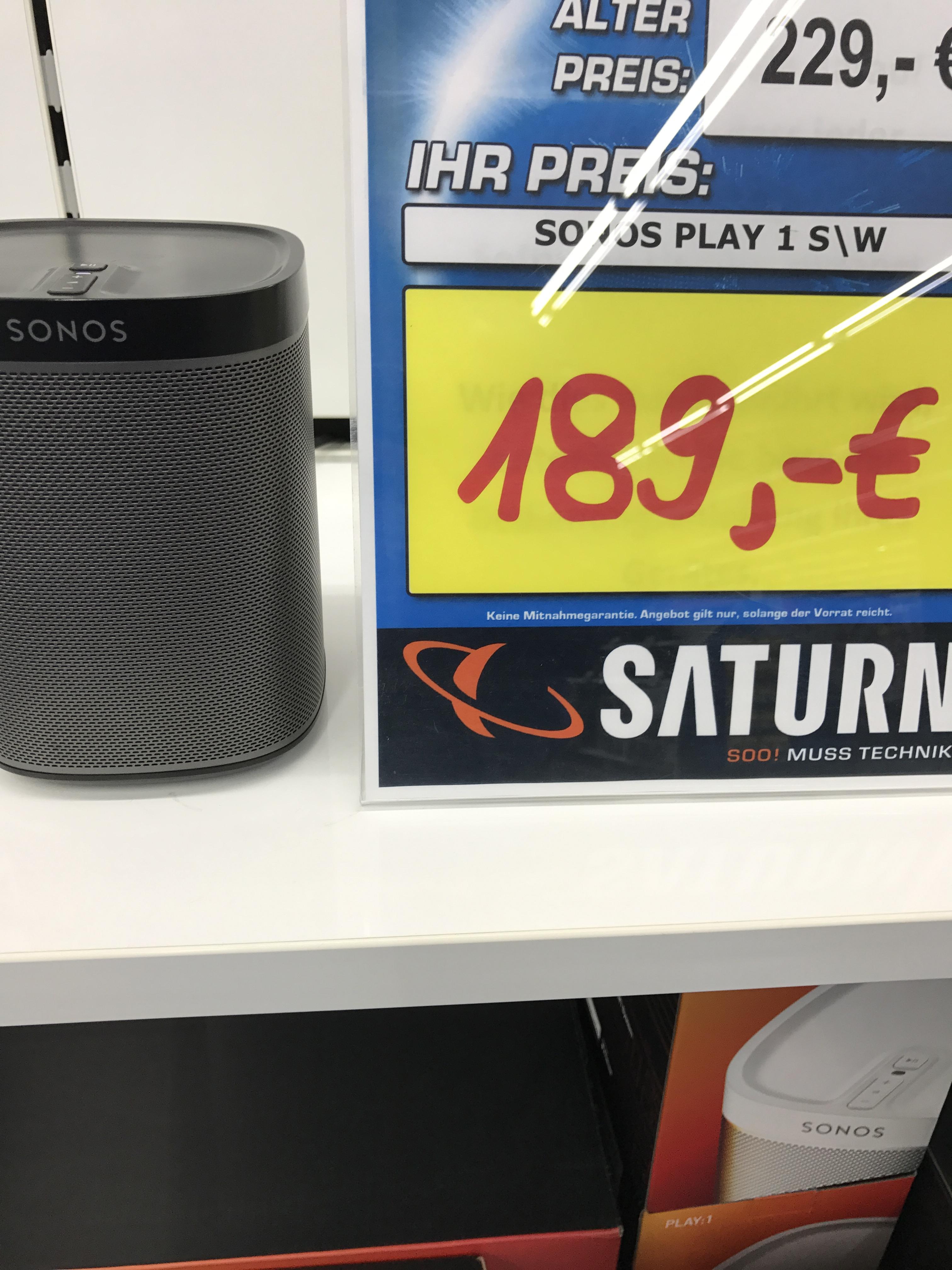 Sonos Play 1 in beiden Farben/Saturn Witten