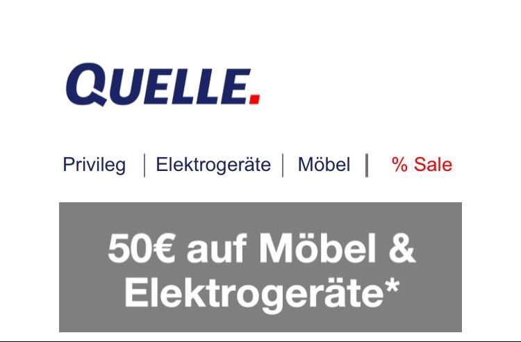 50 EUR Neukunden Gutschein / Rabatt auf Möbel & Elektrogeräte