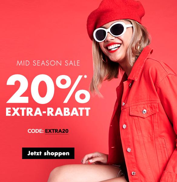 20% extra Rabatt auf den gesamten Sale bei Forever21