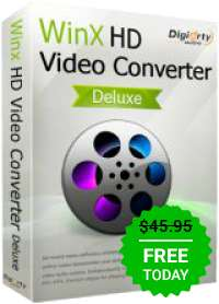 Giveaway of the day — WinX HD Video Converter Deluxe 5.10