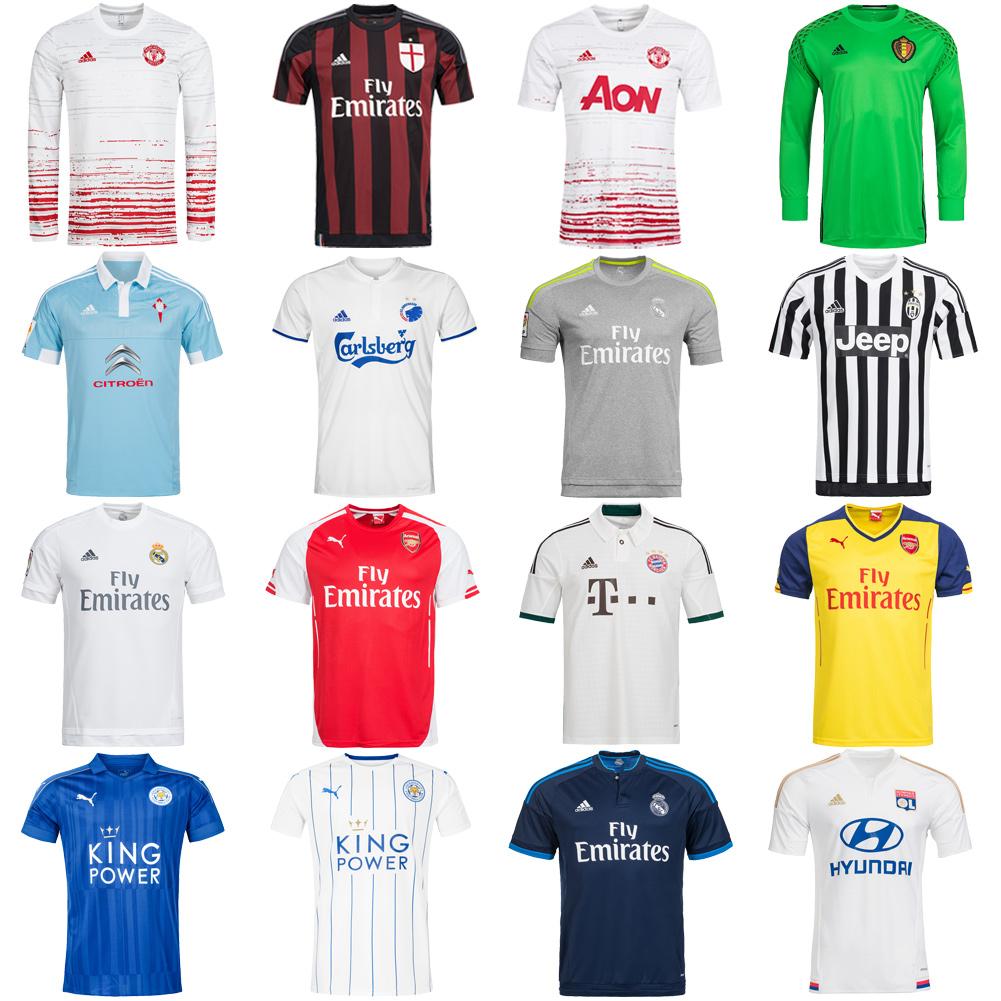 Fußball Fan Trikots von adidas, Puma, Nike & Co. ab 7,99€  - jetzt mit gratis Versand ohne MBW