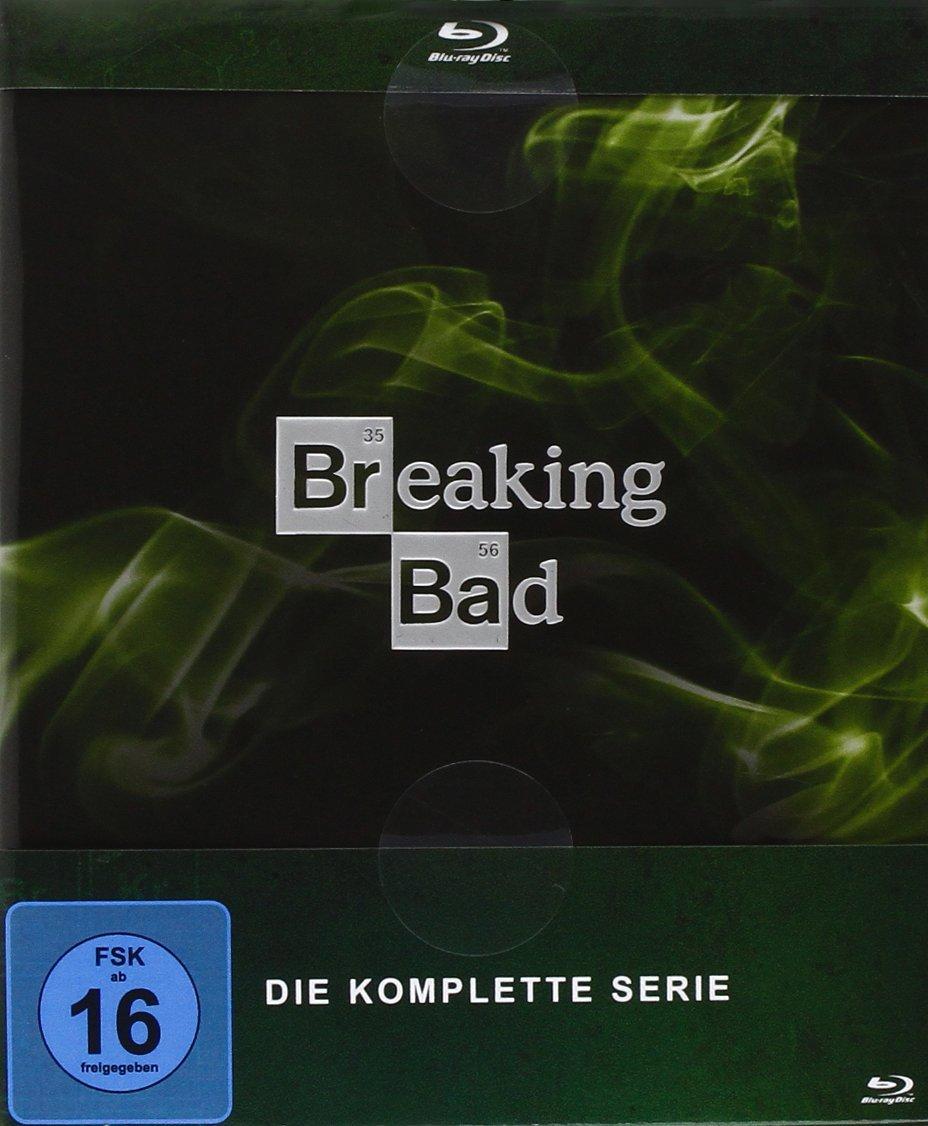 Breaking Bad - Die komplette Serie (Digipack) (Blu-ray) für 41,68€ (Amazon.fr)