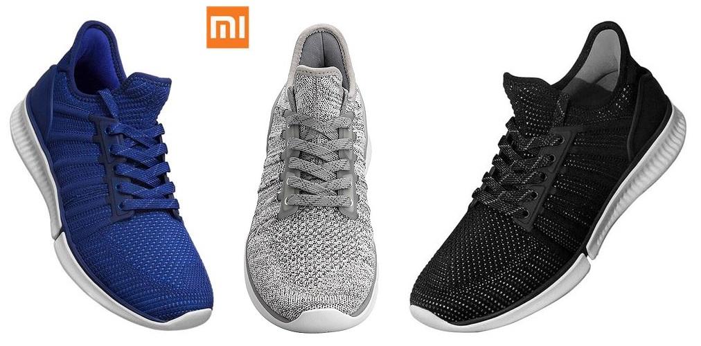 [Gearbest] Xiaomi Mijia Smart Shoes Sneaker (Schwarz/Blau/Grau) inkl. Schrittzähler