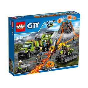 LEGO City - Vulkan-Forscherstation (60124) für 54,94 €