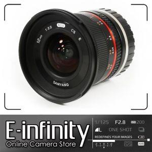 Samyang 12mm f2 NCS CS f.2 [Sony E] schwarz