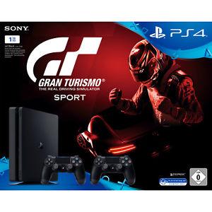 Ps4 Slim 1TB + 2.Controller + Gran Turismo für 299,-€ oder mit Ebay Code: PLUSBAY für 254,15€