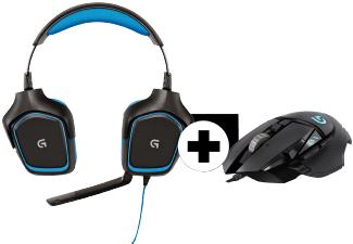 Logitech Bundle Headset G430 + Maus G502 Proteus Spectrum
