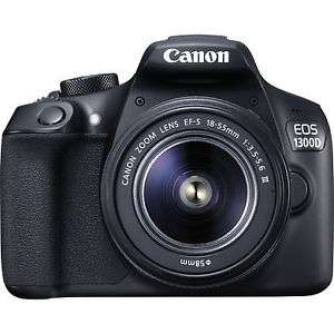 Ebay - lokal? Canon EOS 1300D 18.0MP Digitalkamera - Kit mit EF-S 18-55mm III DC Objektiv