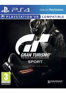 Gran Turismo: Sport Day One Edition (PS4) für 41,94€ (SimplyGames)
