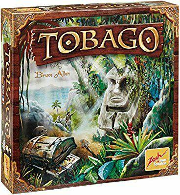 Tobago und weitere Brettspiele (Real, Amazon PRIME, Gesellschaftsspiel)