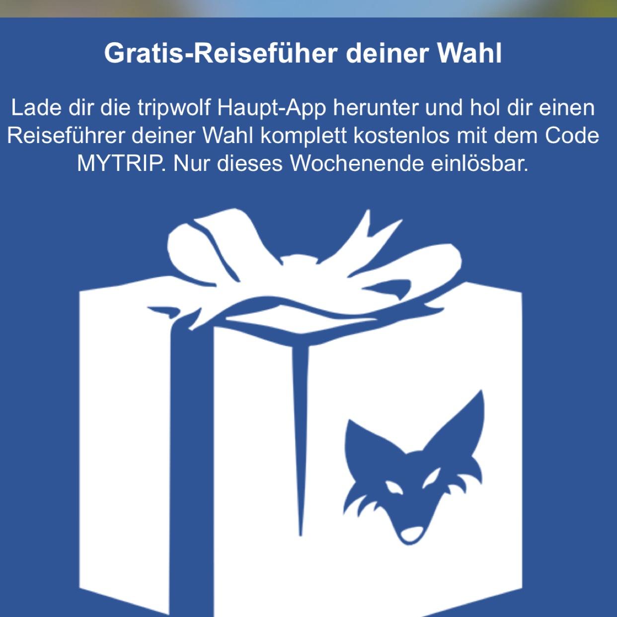 Tripwolf App - Gratis Reiseführer deiner Wahl (z.B. Thailand)!