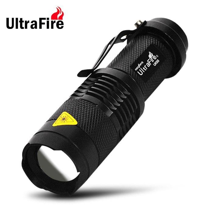Ultrafire UK68 Cree Q5 300LM wasserdichte Taschenlampe für 1,42€ bei [Rosegal]