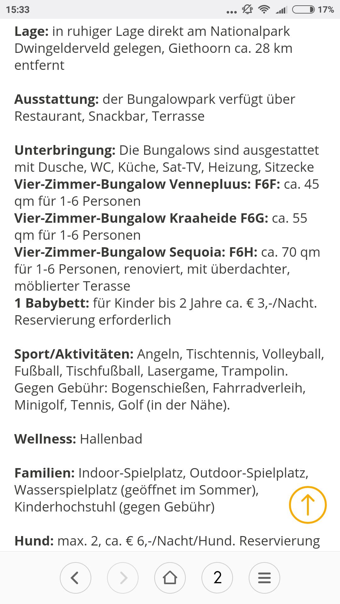1 Woche Familienurlaub im Vakantiepark Westerbergen für 1-6 Personen inklusive Hallenbad und Indoorspielplatz