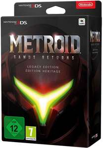 Metroid: Samus Returns Legacy Edition (3DS) für 66,92€ (Check24)