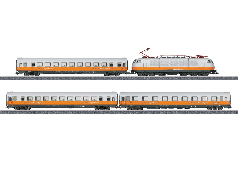 Modellbahn Trix 21680 Lufthansa Express mit BR 103 H0 DCC und SOUND!!! bei Kieskemper