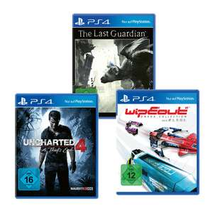 [Aldi Nord / ab Do. 26.10.] Playstation 4 Spiele u.a. mit Uncharted 4, The Last Guardian, Ratchet & Clank