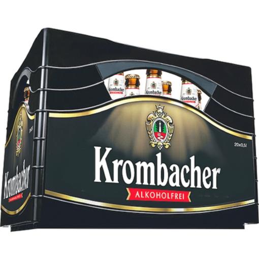 [Netto ohne Hund] Krombacher Pils oder Alkoholfrei 20x0,5L für 9,99 € (+ Pfand)