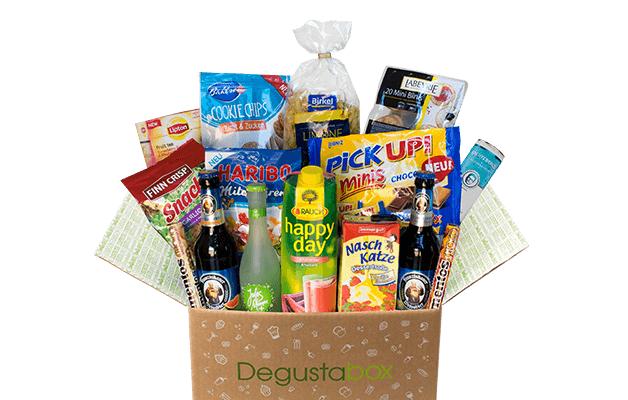 Degustabox für 7,99€ + 2 Gratisprodukte