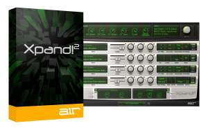 Air Music Technology Xpand!2 VST/AU Synth Plug-in kostenlos über DontCrac[k]