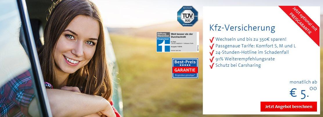 60 € Cashback für Kfz-Versicherung bei Bavaria Direkt