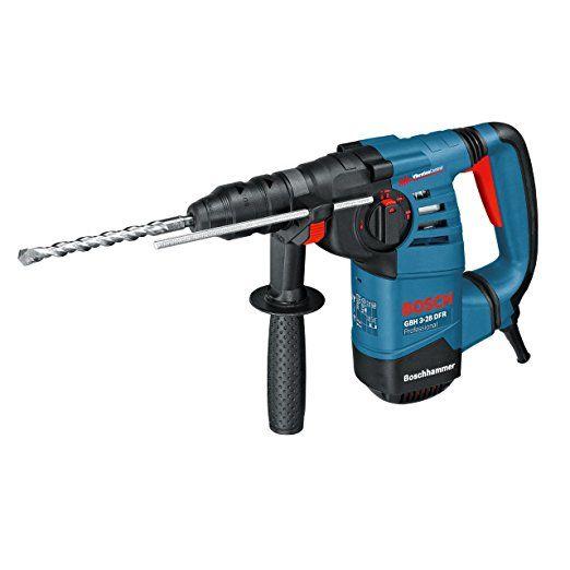 Bosch Professional GBH 3-28 DFR Bohrhammer, SDS-plus-Wechselfutter, 13 mm Schnellspannbohrfutter, bis 28 mm Bohr-Ø, 3,1 J Schlagenergie, Koffer  vonBosch Professional