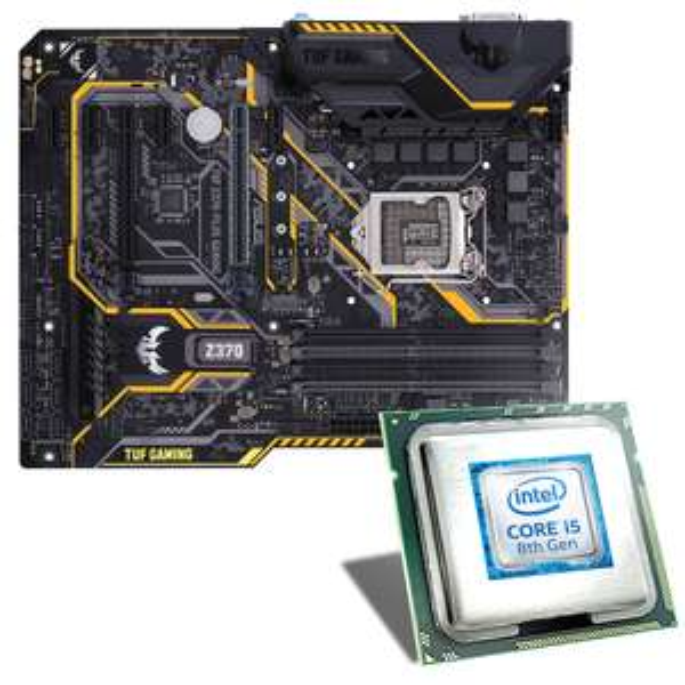[CSL-Computer] Intel Core i5-8600K / ASUS TUF Z370-PLUS GAMING / CPU Kühler - Bundle