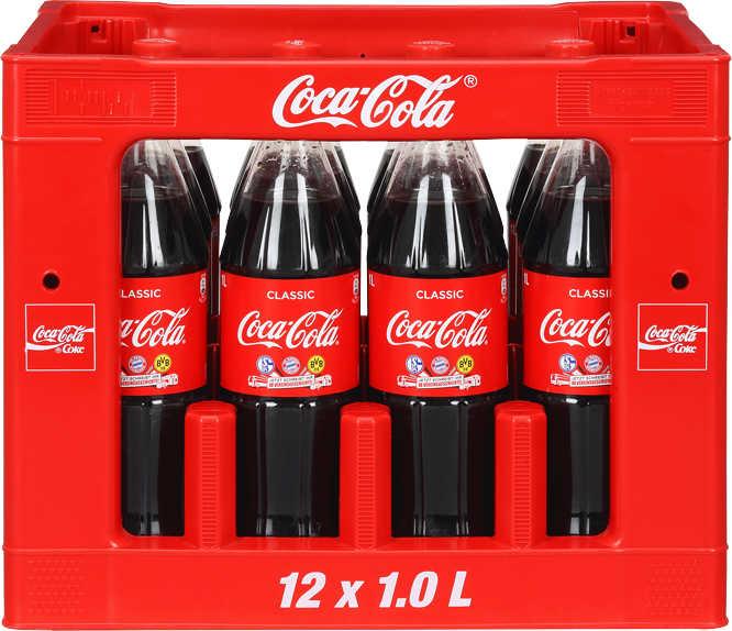 COCA-COLA, FANTA, SPRITE oder MEZZO MIX, der 12 Liter-Kasten für  6,96 Euro [Kaufland]