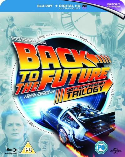 Zurück in die Zukunft - Trilogie (4x Blu-ray) für 10,45€ (Zoom.co.uk)