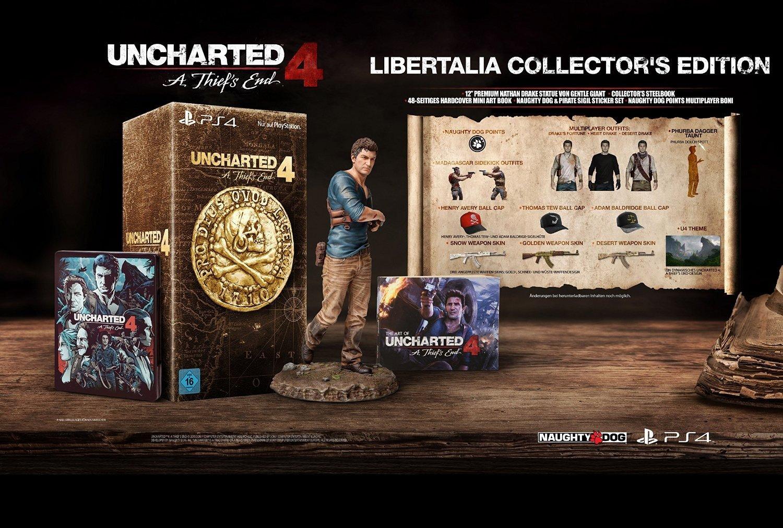 Uncharted 4 CE (PS4) - Erneuter Preissturz