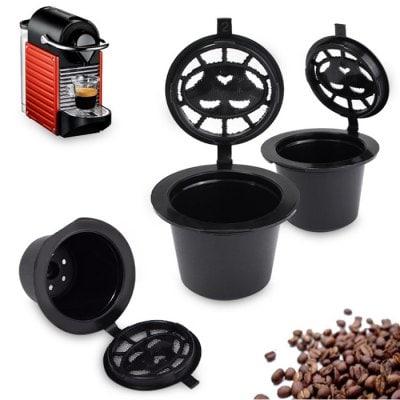 wiederbefüllbare Kapseln für Nespresso Maschinen[Gearbest]