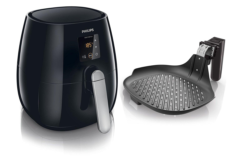 """Philips™ - Heißluftfritteuse """"Airfryer HD9236/20"""" (inkl.Grillpfanne) ab €128,35 [@eBay.de&Redcoon.de]"""
